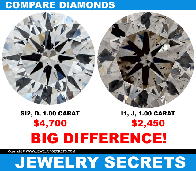 Compare Diamonds Huge Difference