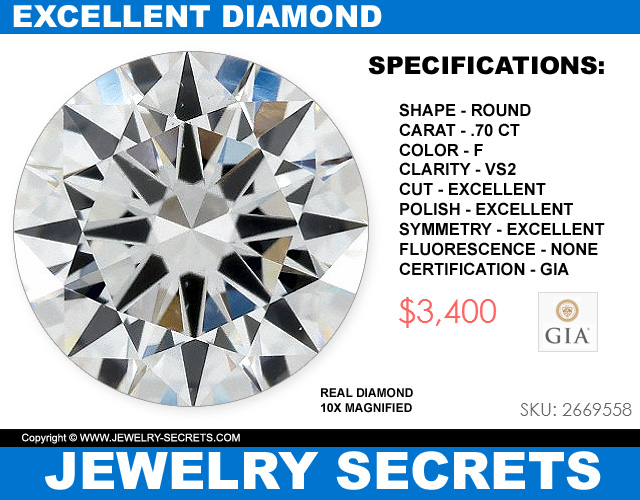Excellent Quality Of Diamond