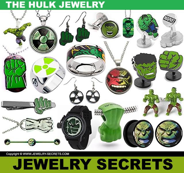 The Incredible Hulk Jewelry