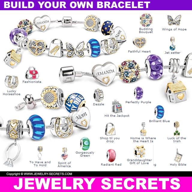 Build Your Own Charm Bracelet Jewelry Secrets