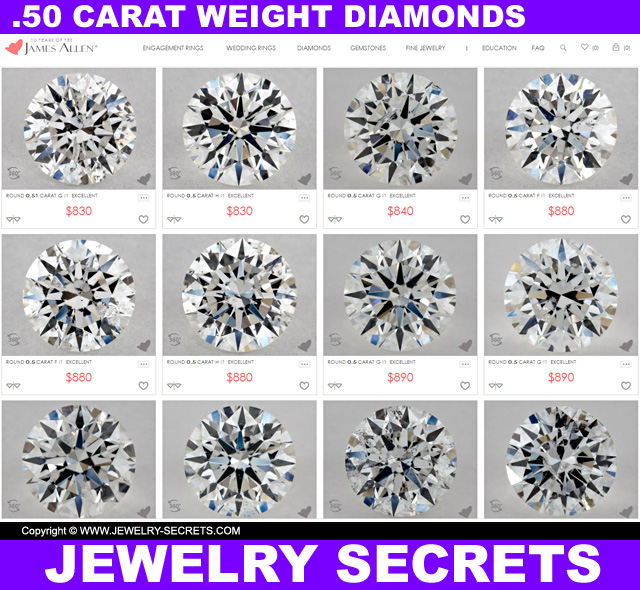 half of blog the jewelry prices in secrets diamond engagement carat center ring