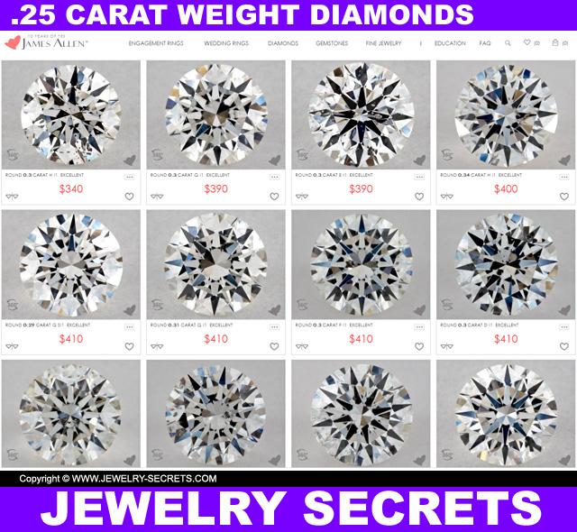 .25 Carat Diamond Price