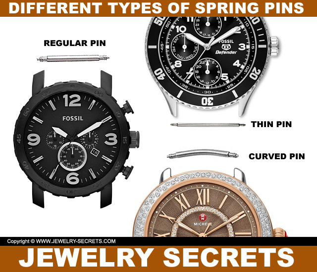 Different Types Of Watch Spring Bar Pins