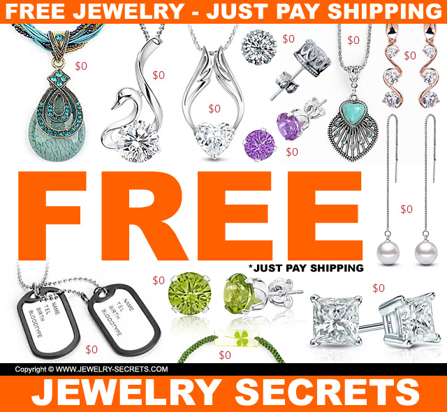 free jewelry just pay shipping and handling style guru