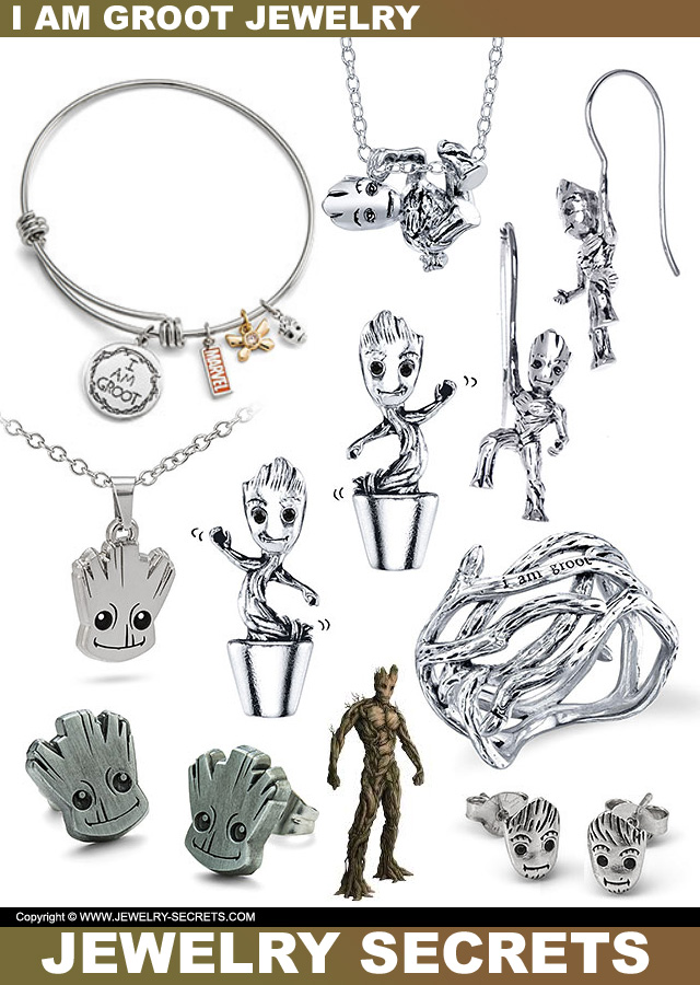 I Am Groot Jewelry