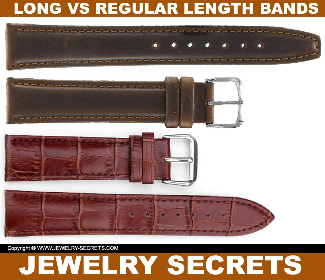 Regular Length Watch Bands Vs Long Watch Bands