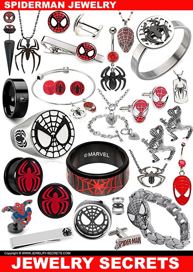 Spiderman Jewelry