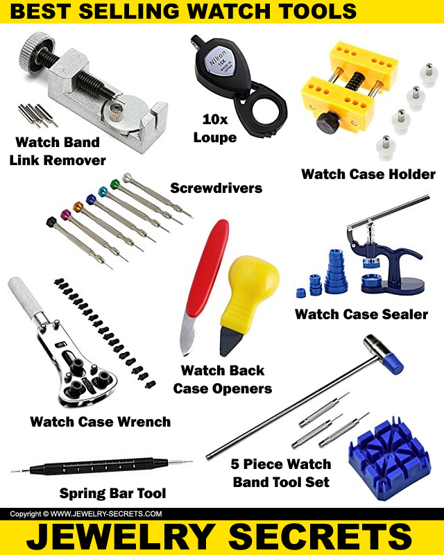 The Best Selling Watch Tools And Kits