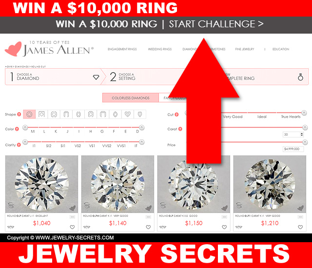 WIN A $10 000 DIAMOND RING – Jewelry Secrets