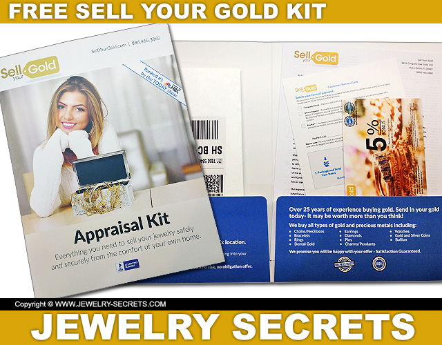Sell Your Gold Free Appraisal Kit