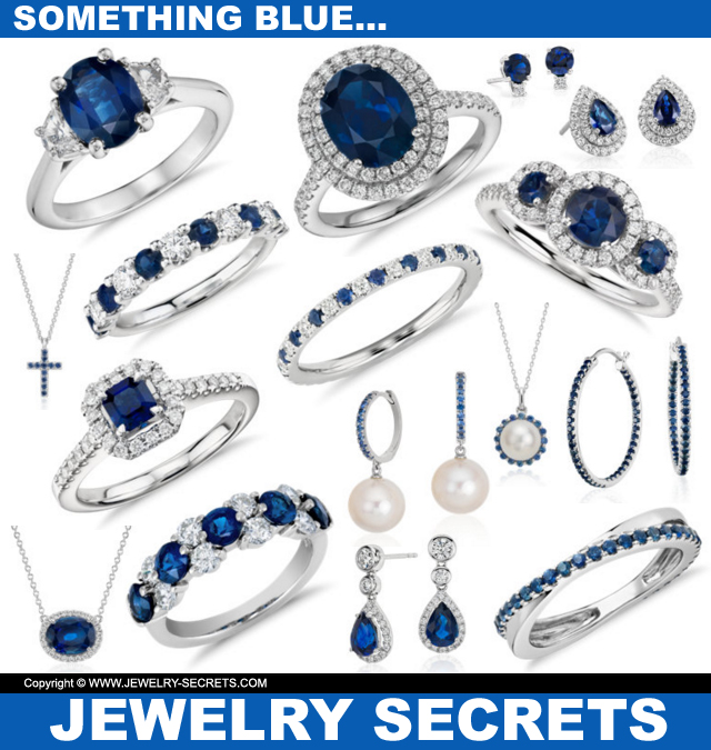 Something Blue Sapphire Jewelry