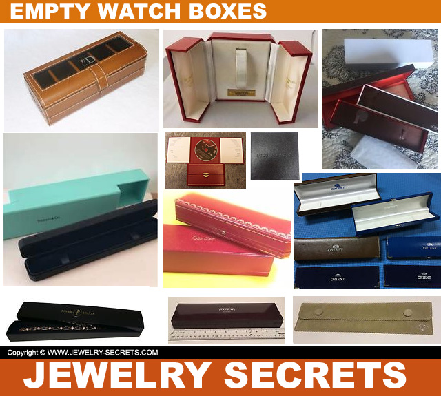 Authentic Empty Used Watch Boxes On Ebay
