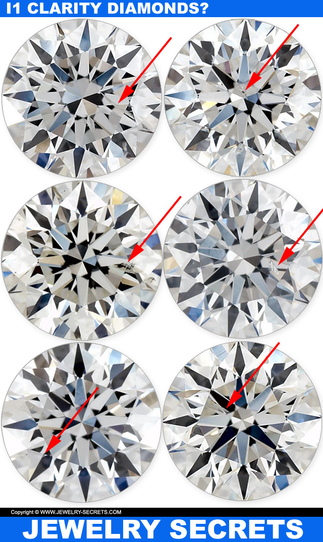 The Best I1 Clarity Diamonds