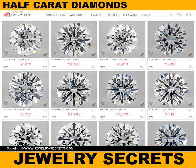 Best Half Carat Diamonds