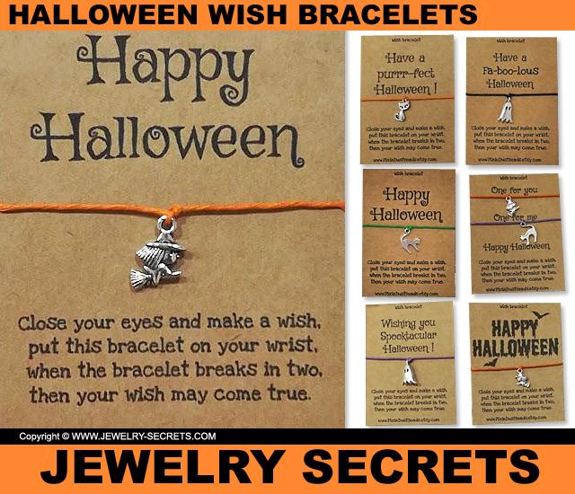 Happy Halloween Wish Bracelets
