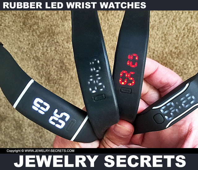 led watch instructions manual
