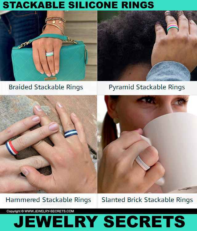 Stackable Silicone Rings By Enso