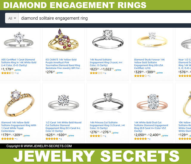 Buying An Engagement Ring On Amazon