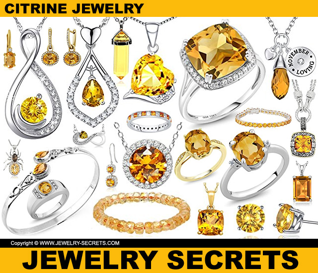Citrine Birthstone Jewelry For November