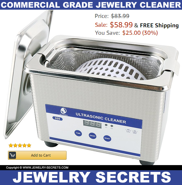 The Cheapest Commercial Grade Proffesional Jewelry Ultrasonic Cleaner