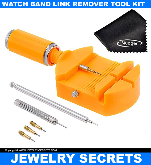 Watch Band Link Remover Tool Kit