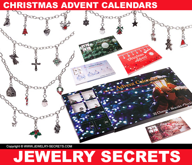 2017 Christmas Advent Calendars With Jewelry