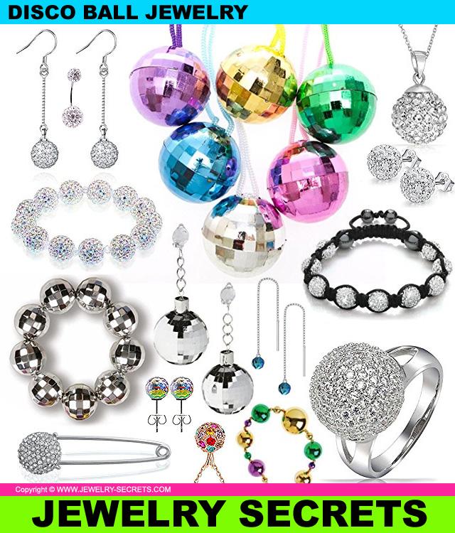 New Years Eve Disco Ball Jewelry