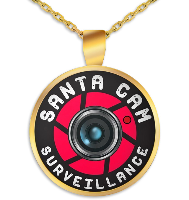 Santa Cam Surveillance Pendant