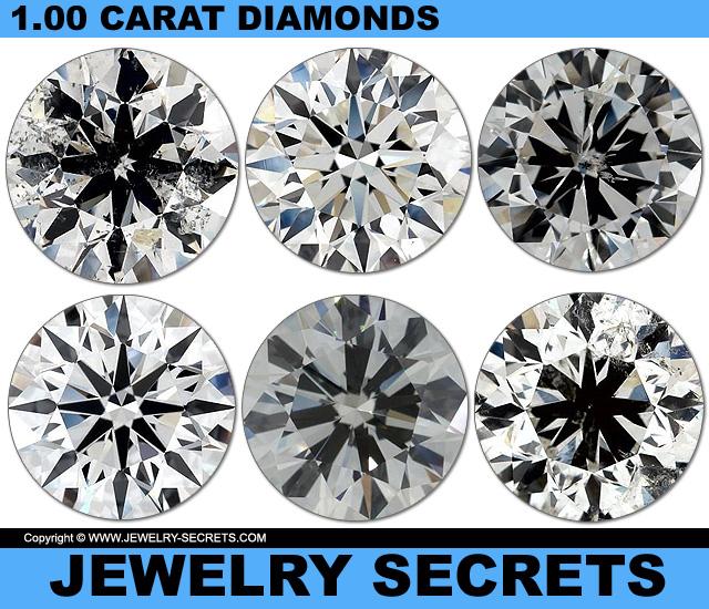 All Diamonds Are 1-00 Carat Diamonds