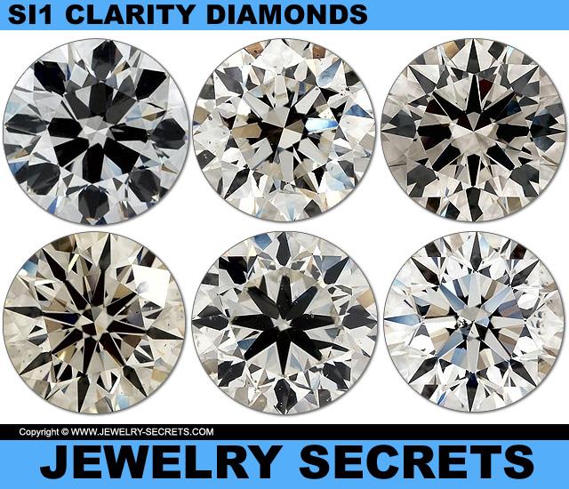 All Diamonds Are SI1 Clarity Diamonds