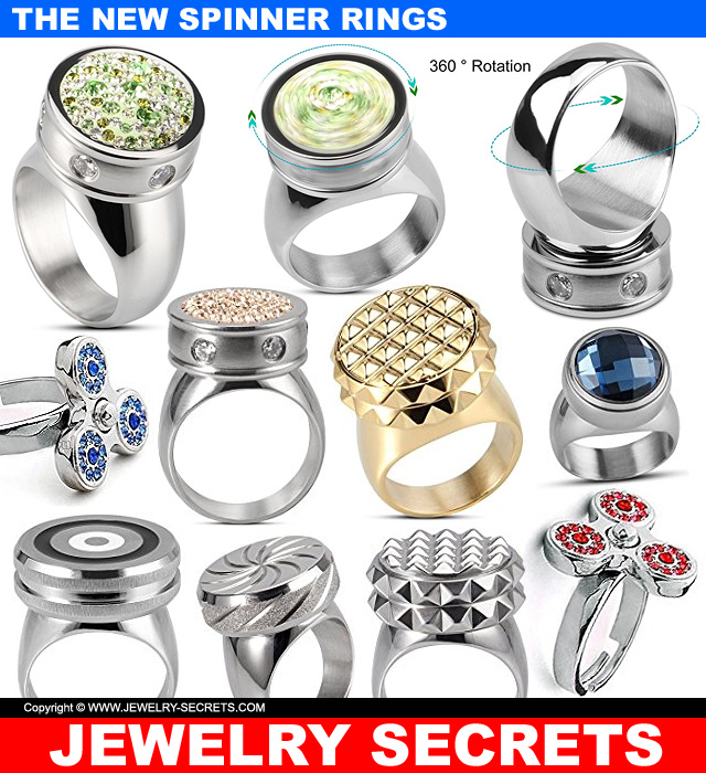 Introducing The New Fidget Spinner Rings