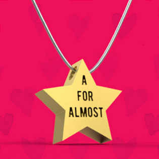 A For Almost Pendant