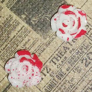 Bloody Rose Earrings