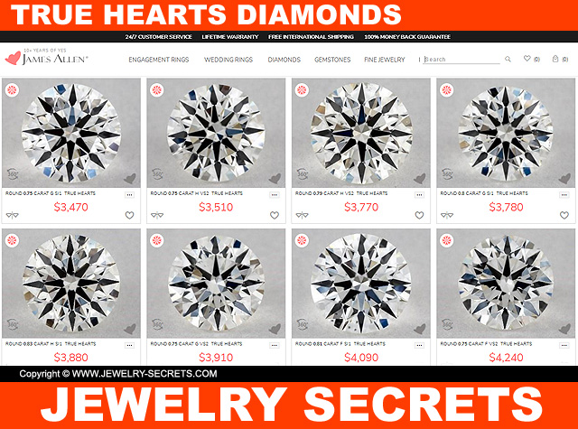 Buy Hearts And Arrows True Hearts Diamonds Here