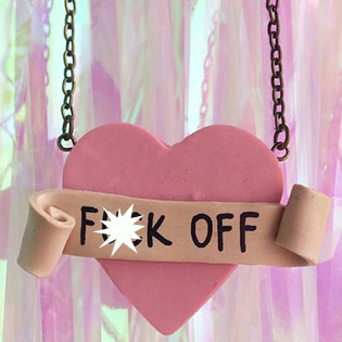 F Off Necklace