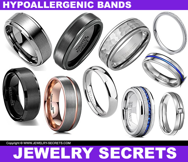 Hypoallergenic Wedding Rings: THE 5 MOST COMFORTABLE WEDDING BANDS