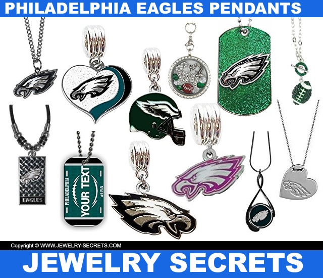 Philadelphia Eagles Pendants