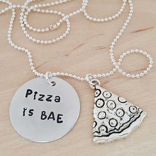 Pizza Is Bae Pendant