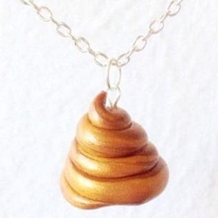 Poop Necklace