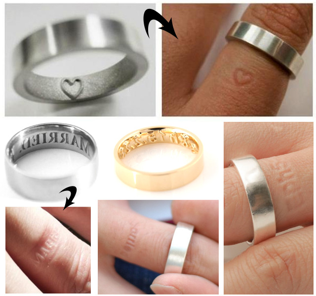 Rings That Leave An Imprint On The Finger