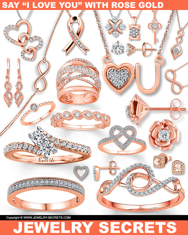 Say I Love You With Rose Gold