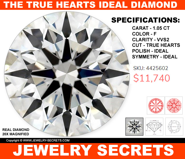 The True Hearts Ideal Cut Diamond