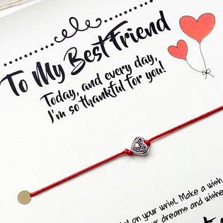 To My Best Friend Bracelet