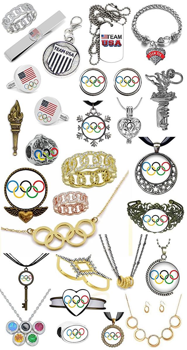 USA Olympic Jewelry