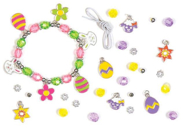 Easter Charm Bracelet Jewelry Kit