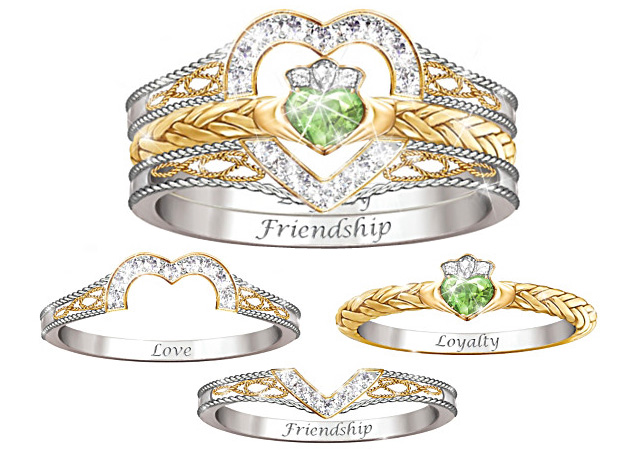 Image result for claddagh ring photos