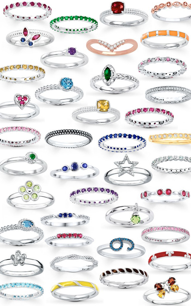New Stackable Rings From Kay Jewelers