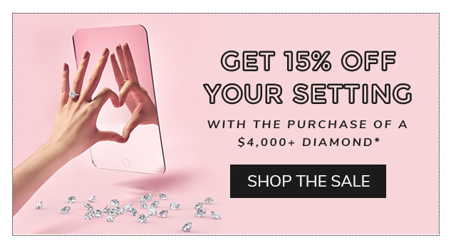 Shop The Diamond Engagement Ring Sale