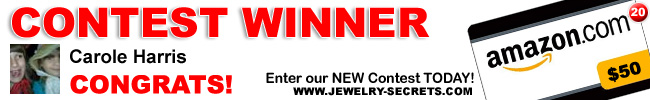Jewelry Giveaway 20 Winner