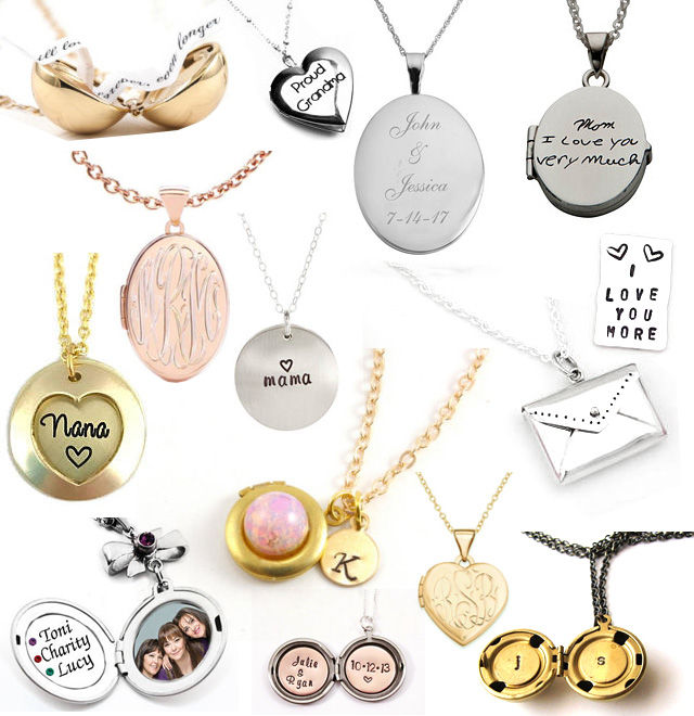 Personalized Engraved Lockets